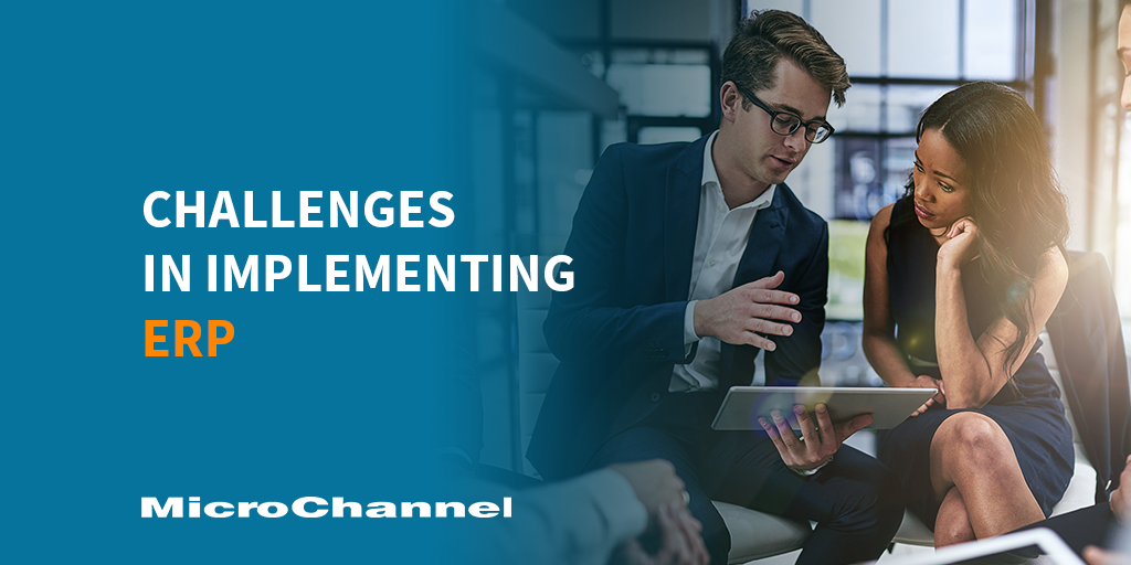challenges in implementing erp
