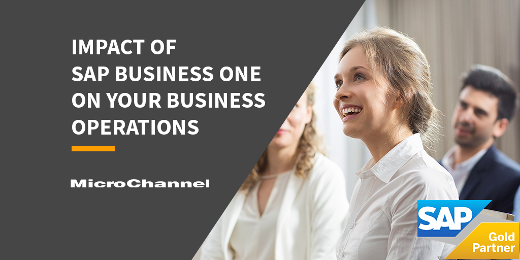 improving business operations with sap business one