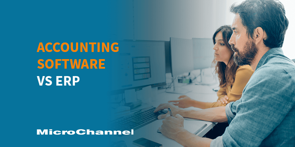 accounting software vs erp software