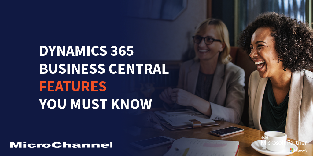 dynamics 365 business central features