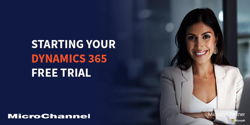 dynamics 365 free trial