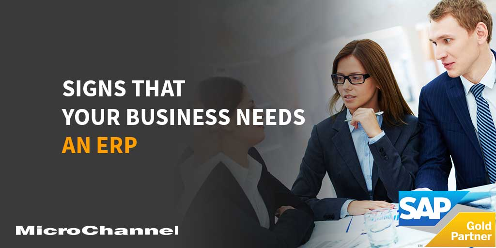 signs that your business needs an erp