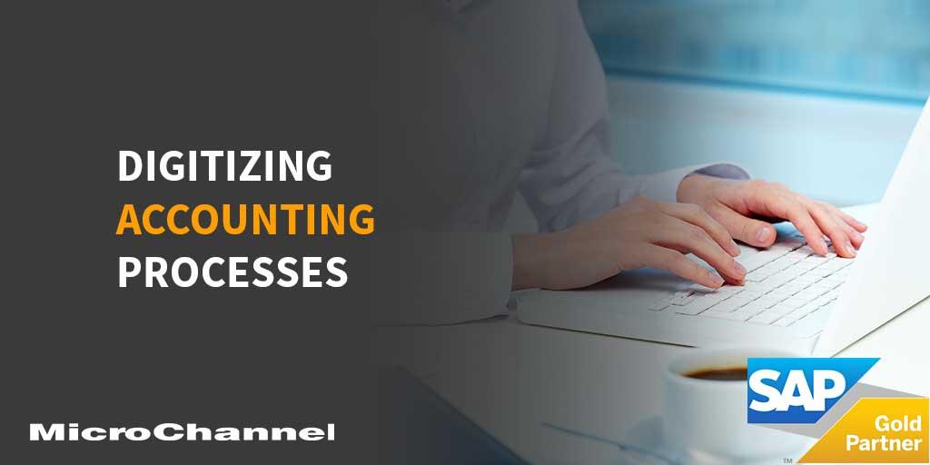 digitizing accounting processes