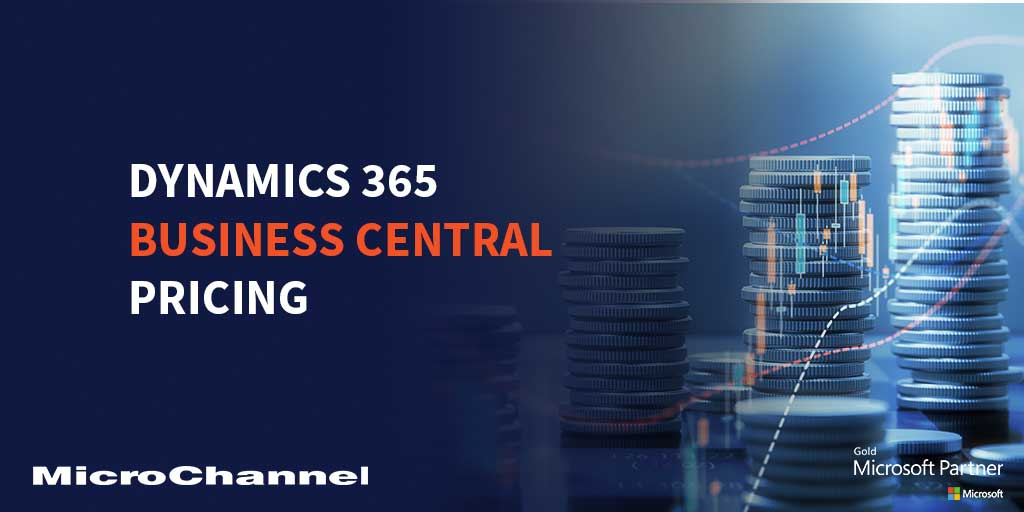 dynamics 365 business central pricing