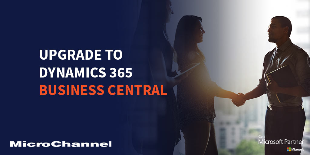 Upgrade to Dynamics 365 Business Central