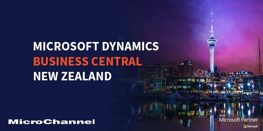 dynamics 365 business central new zealand