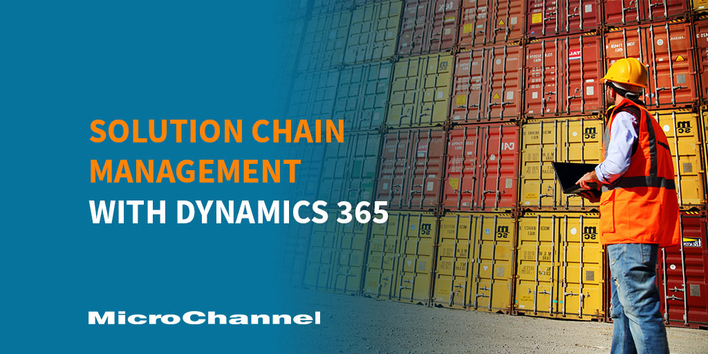 Supply Chain Management with Dynamics 365