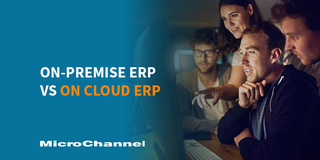 On-Premise ERP vs Cloud ERP