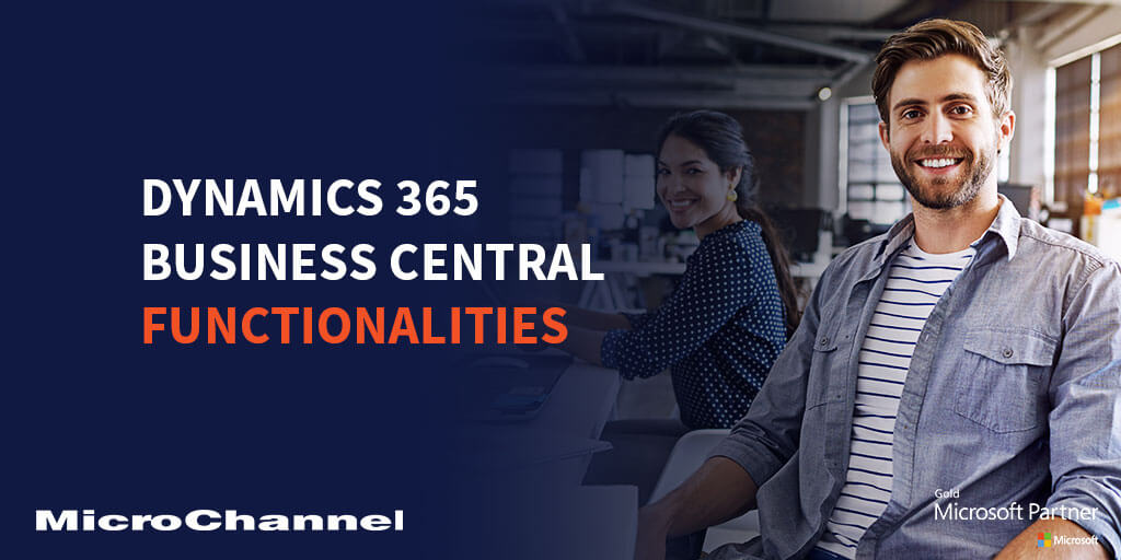 dynamics 365 business central functionalities