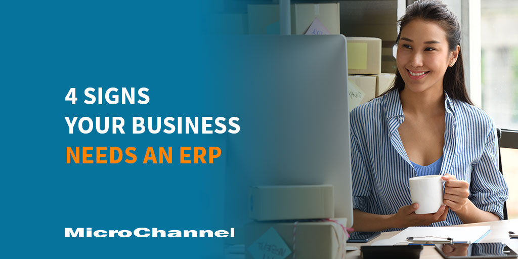 5 signs your business needs an erp