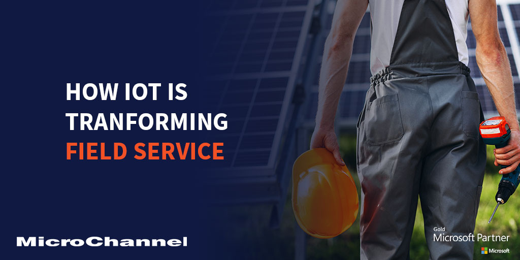 iot transforming field service