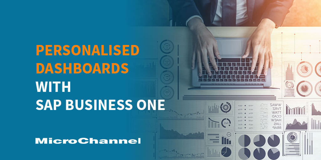 personalised dashboard sap business one