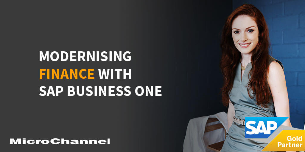 modernising finance with sap business one