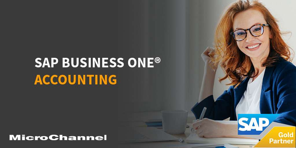 sap business one accounting