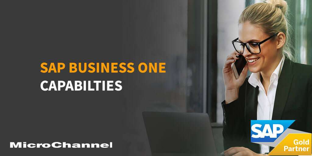 Capabilities of SAP Business One