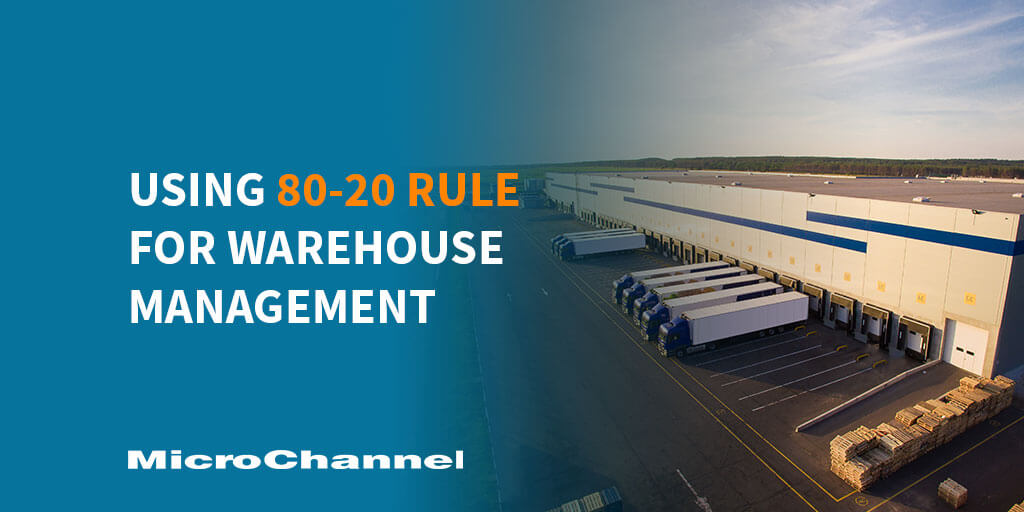80-2o rule for warehouse management