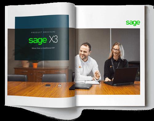 brochure of sage x3