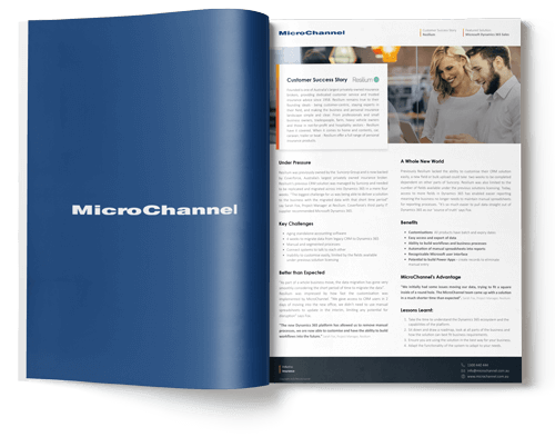 case study resilium | microchannel
