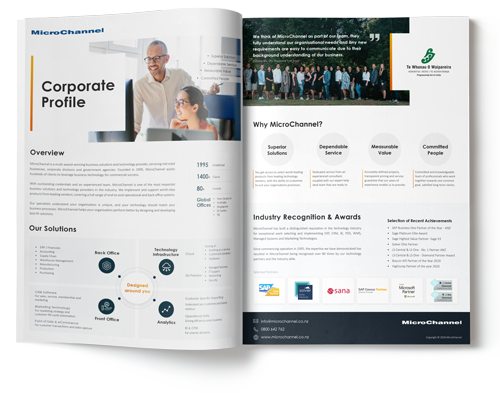 MicroChannel Corporate Profile