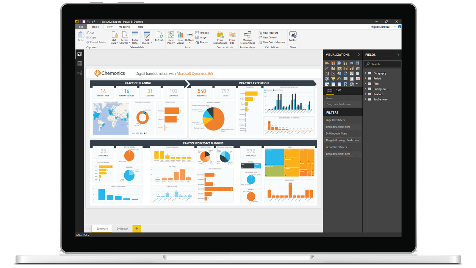 power bi trial