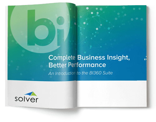 solver bi 360 introduction